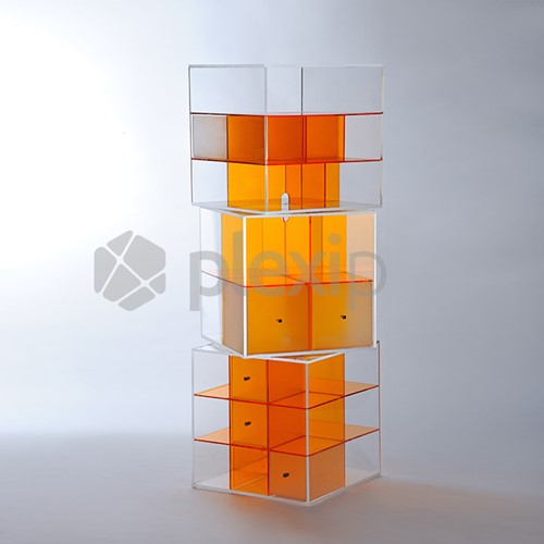 Storage CUBO rotating