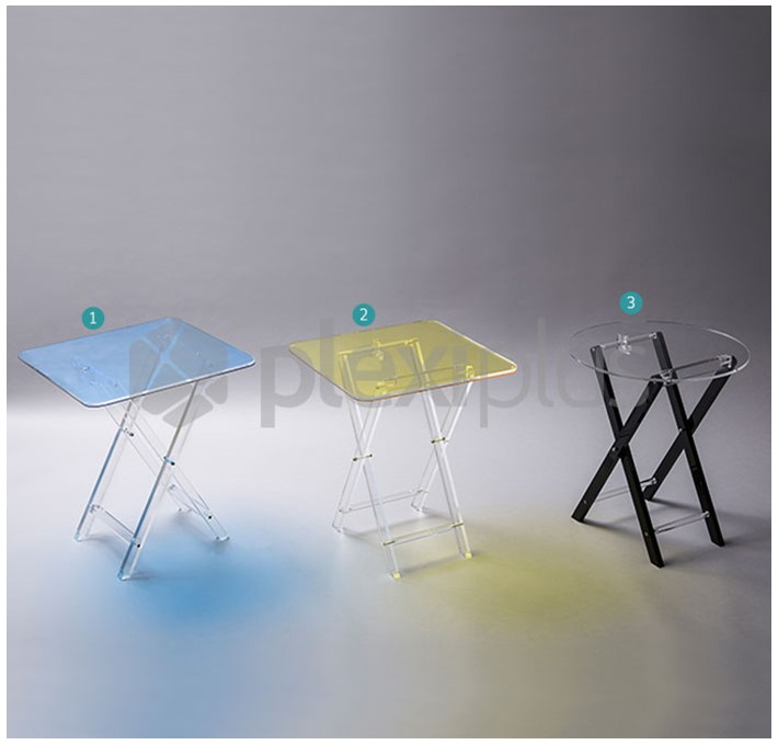 Folding Tables COLORE & RONDO