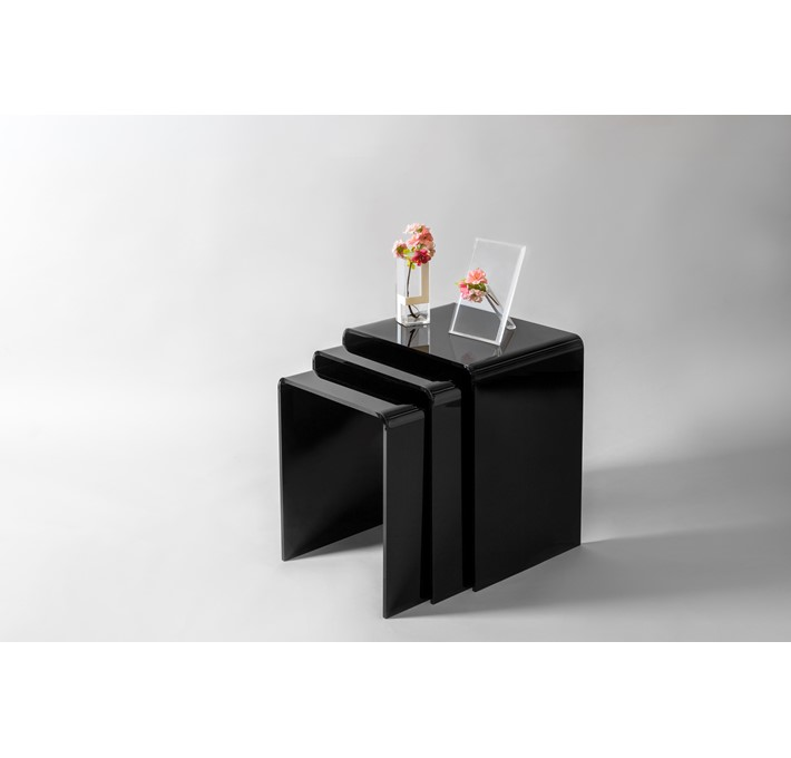 Nest Tables PIEGA Color Black 502