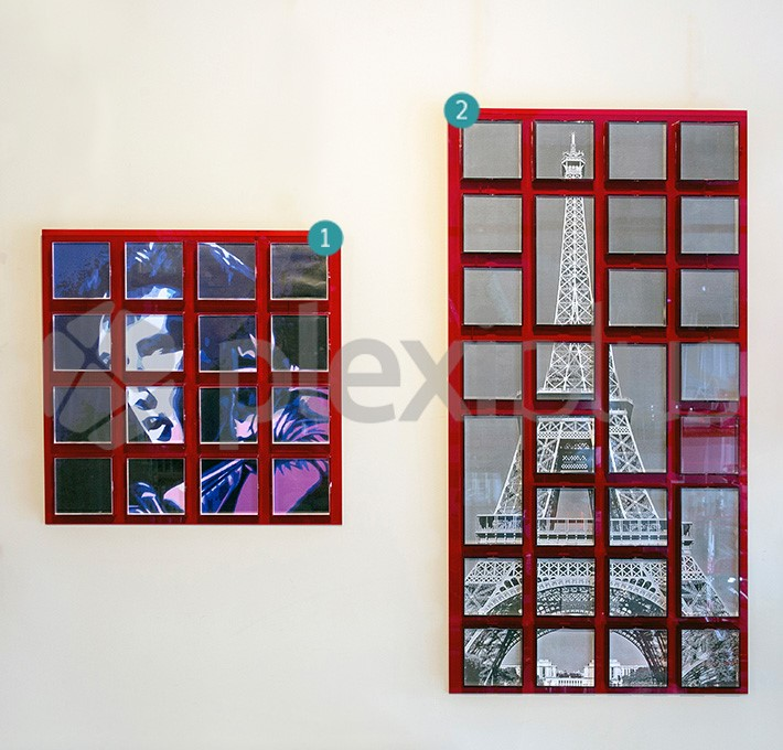 Frame CUBO wall mounted