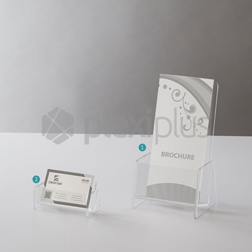 Business Card & Brochure Stand